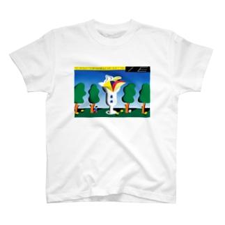 パフェに住めたらいいなって小さい頃から思ってました  Tシャツ T-shirts