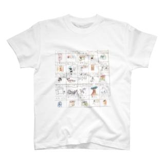 さんぽでみかけるもの T-shirts