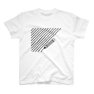 しましまかきかき T-shirts