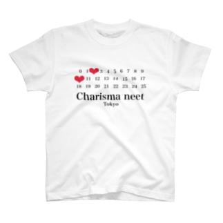 Charisma  neet カレンダータグ T-shirts