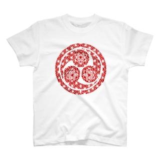 ミツドモエモン(姫君) T-shirts