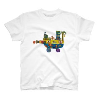 みらいのふね T-shirts