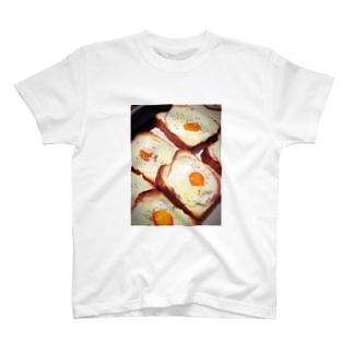 ハムエッグトースト T-shirts
