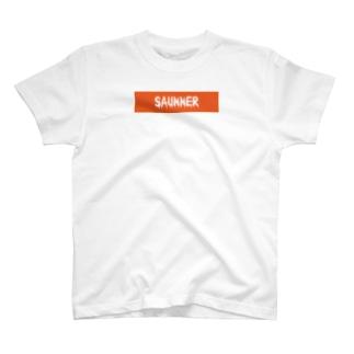 シンプル流血サウナー T-shirts