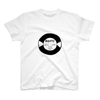 ROOTSステッカー T-shirts