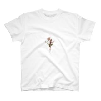 芍薬とニゲラ T-shirts