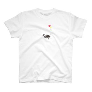 ダイビング:ハート泡 T-shirts
