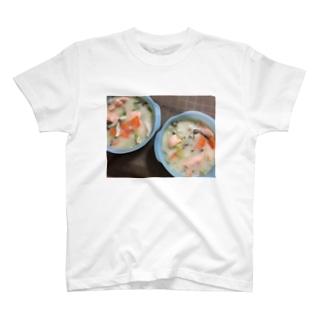 鮭のクリームシチュー T-shirts