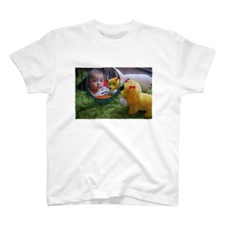 あきちゃんとART T-shirts