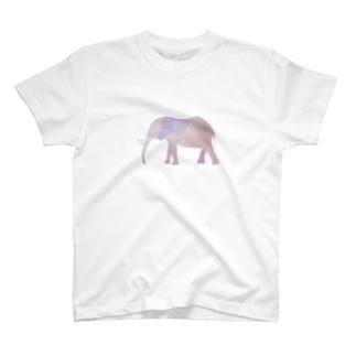 パステルなエレファント T-shirts