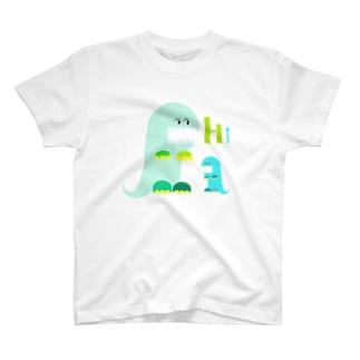 前歯育ち気味怪獣 T-shirts