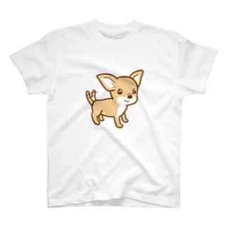 スムースチワワの Lulu T-shirts