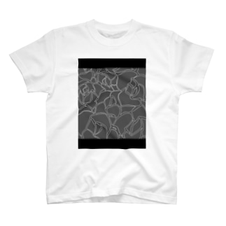 人権的にしゅじゅむりゃしゃんのRose T-shirts
