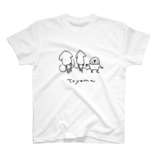 ご当地Tシャツ富山編 T-shirts