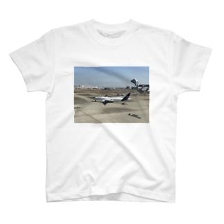 ルフトハンザT(息子作) T-shirts