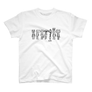きりんはくび T-shirts