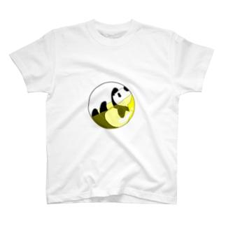 カプセルinパンダ T-shirts