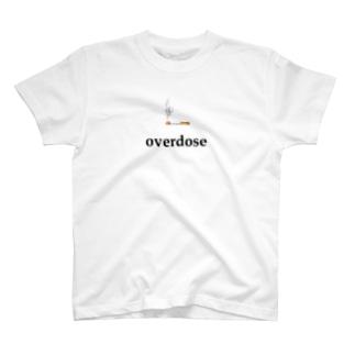 煙草 overdose T-shirts