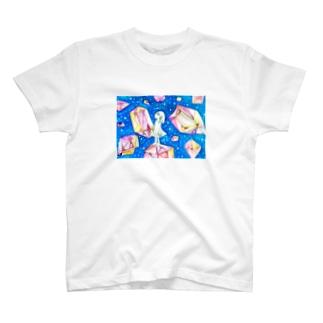 結晶世界Tシャツ T-shirts