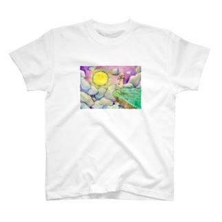 夜風のTシャツ。 T-shirts