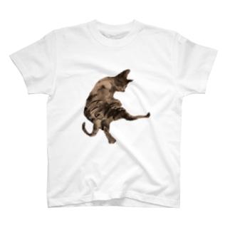 猫 kick T-shirts