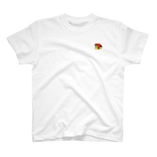 家に出るギリギリで留まっている徳原旅行 T-shirts