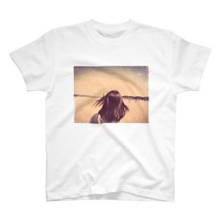 海とカノジョと僕。 T-shirts