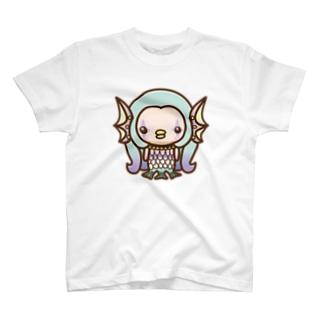 amabie green [B] T-shirts