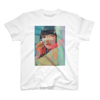喫煙女子Tシャツ(細畑理奈ver) T-shirts
