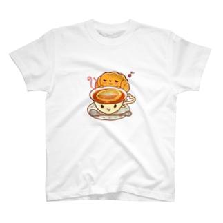 クロワッサンと紅茶 T-Shirt