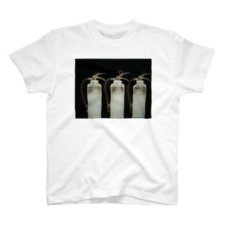 消火器  X-ray T-shirts