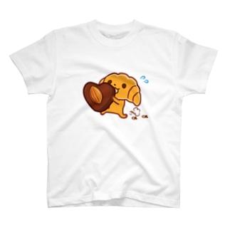 クロワッサンとアーモンドチョコ T-shirts