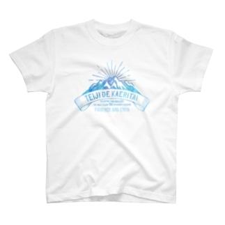 SANKAKU DESIGN STOREの定時で帰りたい for MOUNTAIN。 氷 T-shirts