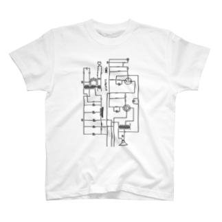 シングルアンプ T-shirts