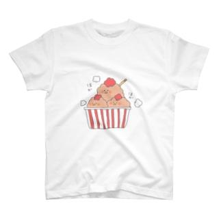 からあげとり② T-shirts