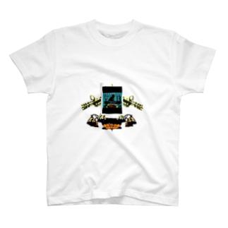 Danke Shoot Coffeeのヴァルキリーウエポン「Wise men's Nest」 T-shirts