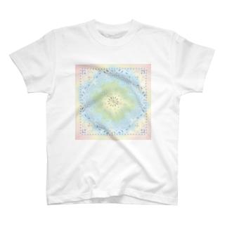 シュナバンダナ レインボー T-shirts