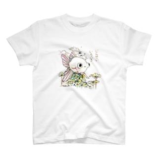 でめちゃん「じんせいいろいろ」 T-shirts