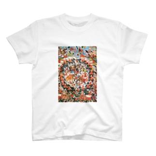 マハーバーラタ クルクシェートラの戦い T-shirts