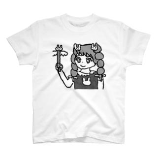 魔法少女うさピンク T-shirts