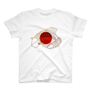 金魚 ~カラー ver.~ T-shirts