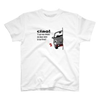 MYヒョッコリチン ベルジオーネ ふく T-shirts