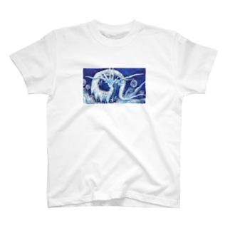 月花龍の花園 T-shirts