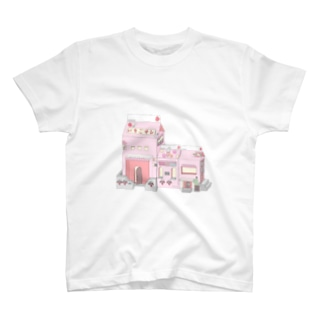 いちご オレ 🍓 T-shirts