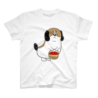もじゃまるお見舞い T-shirts