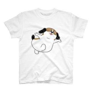 もじゃまるあそんで T-shirts