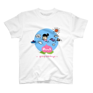 たのぴんふのmomotaro T-shirts