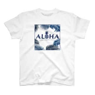 ALOHA パームツリー 155 T-shirts