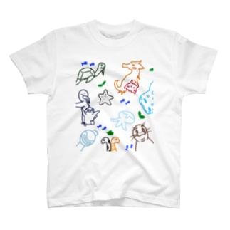 海の住人達 T-shirts