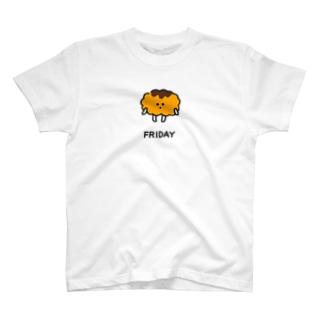 金曜日のとんかつちゃん T-shirts